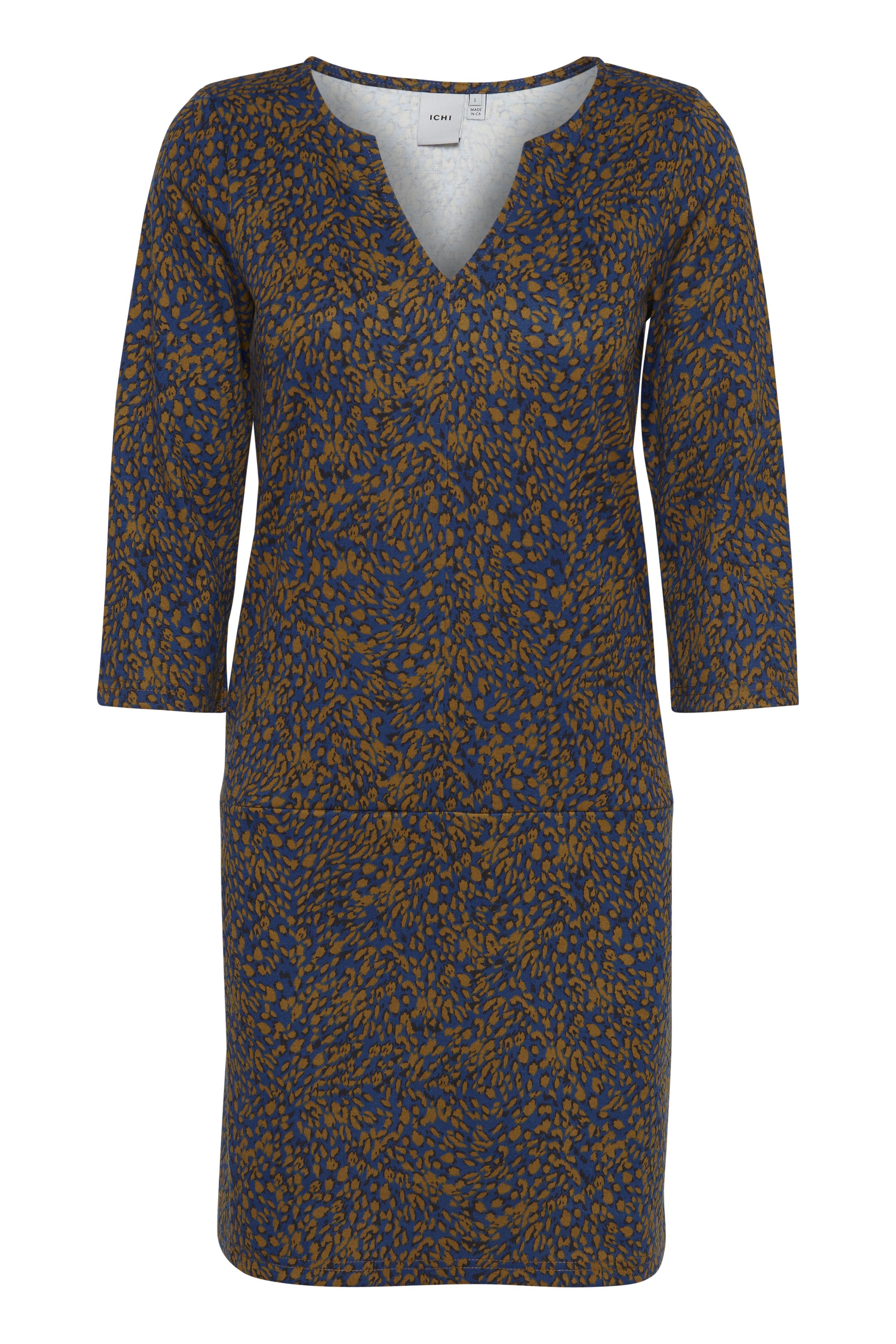 Ichi Dame Jersey jurk - True Blue