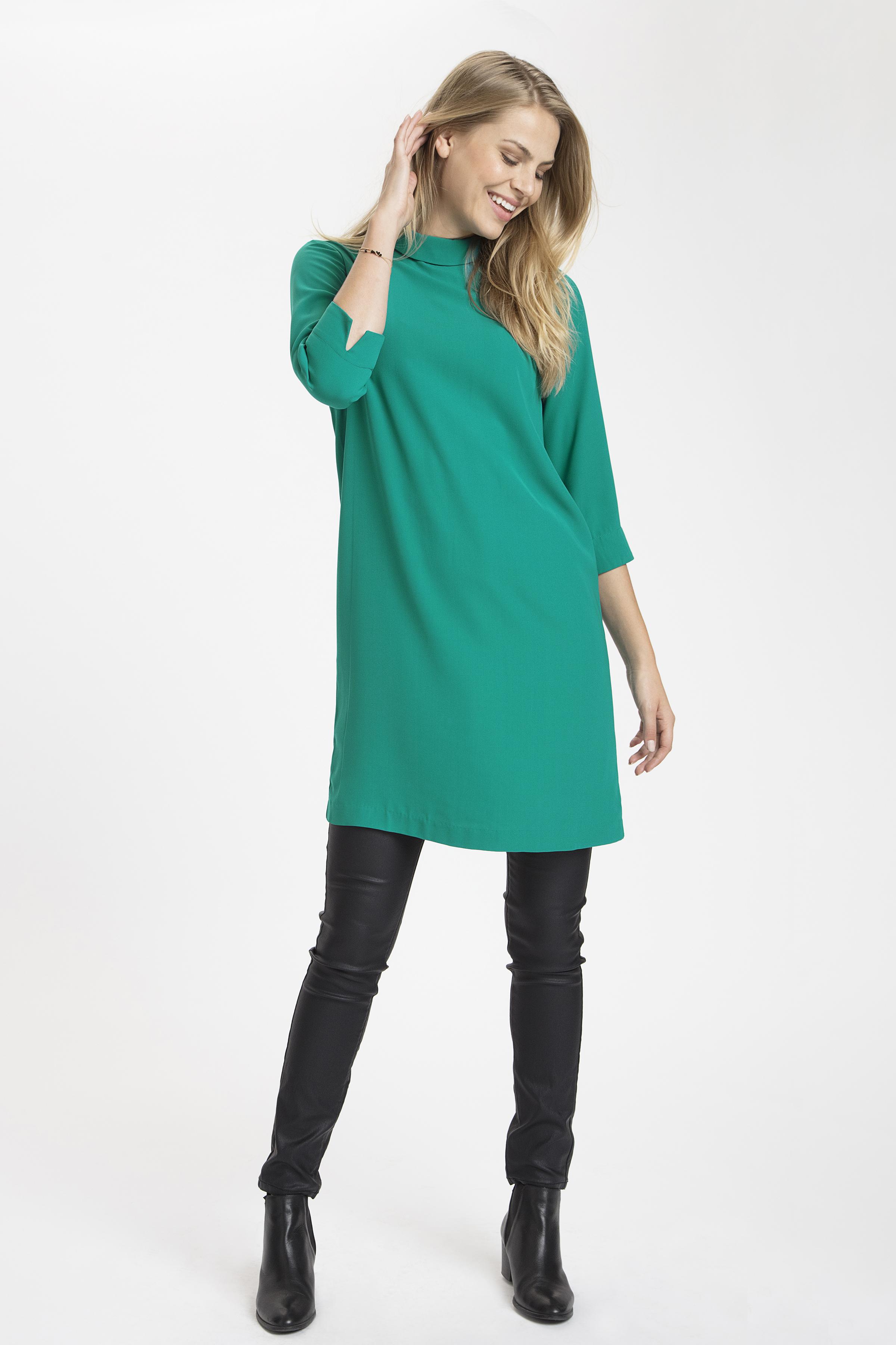 Turkosgrön Klänning från Fransa – Köp Turkosgrön Klänning från stl. XS-XXL här
