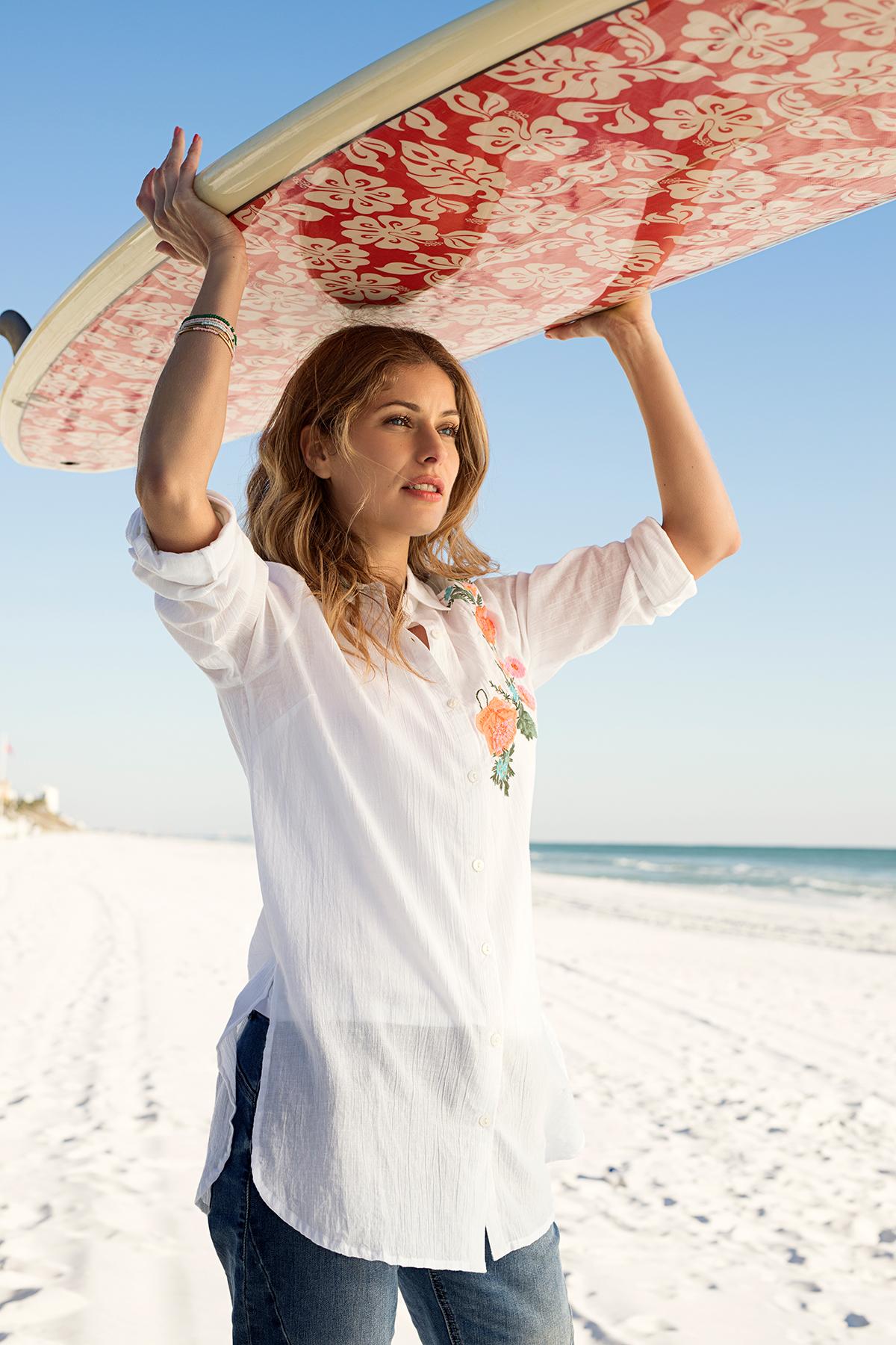 Vit Långärmad skjorta från Bon'A Parte – Köp Vit Långärmad skjorta från stl. S-2XL här