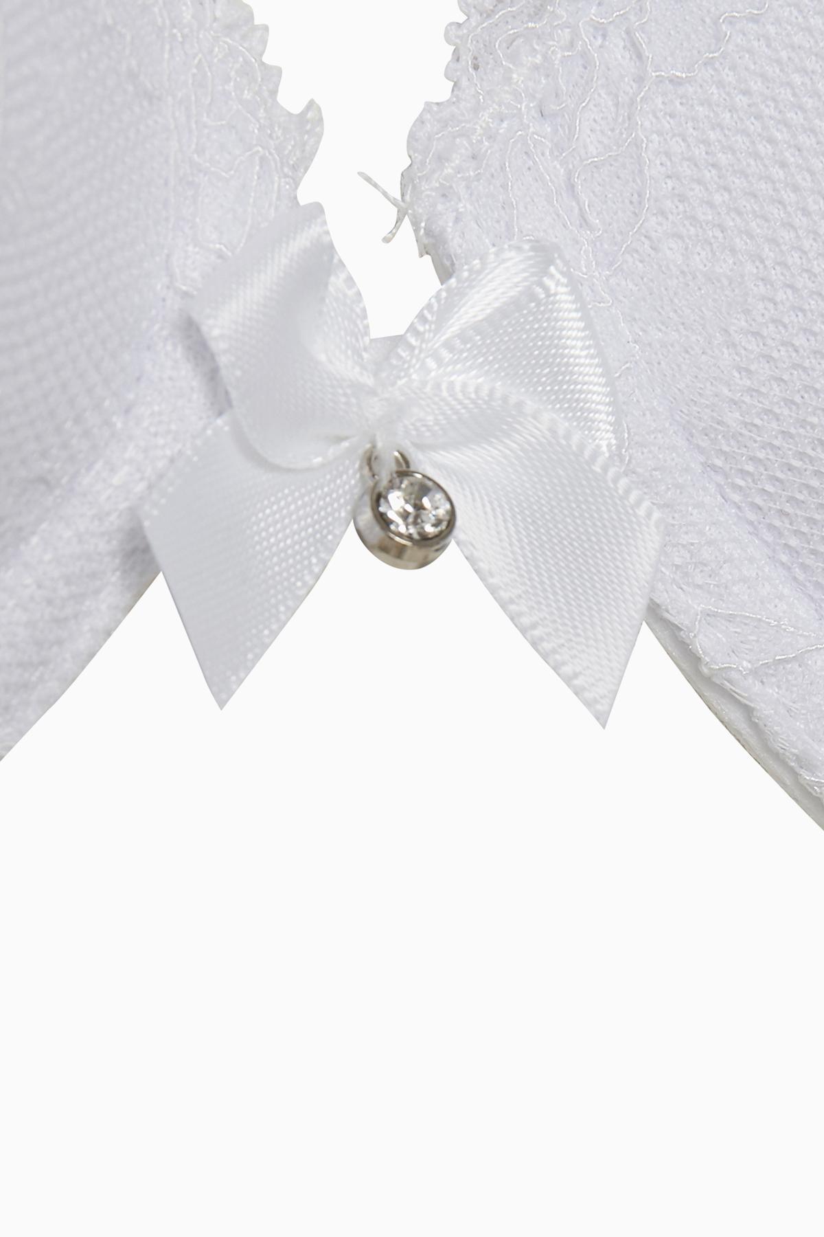 Weiß BH mit Fiberfüllung von Bon'A Parte – Shoppen Sie Weiß BH mit Fiberfüllung ab Gr. 70A-90D hier