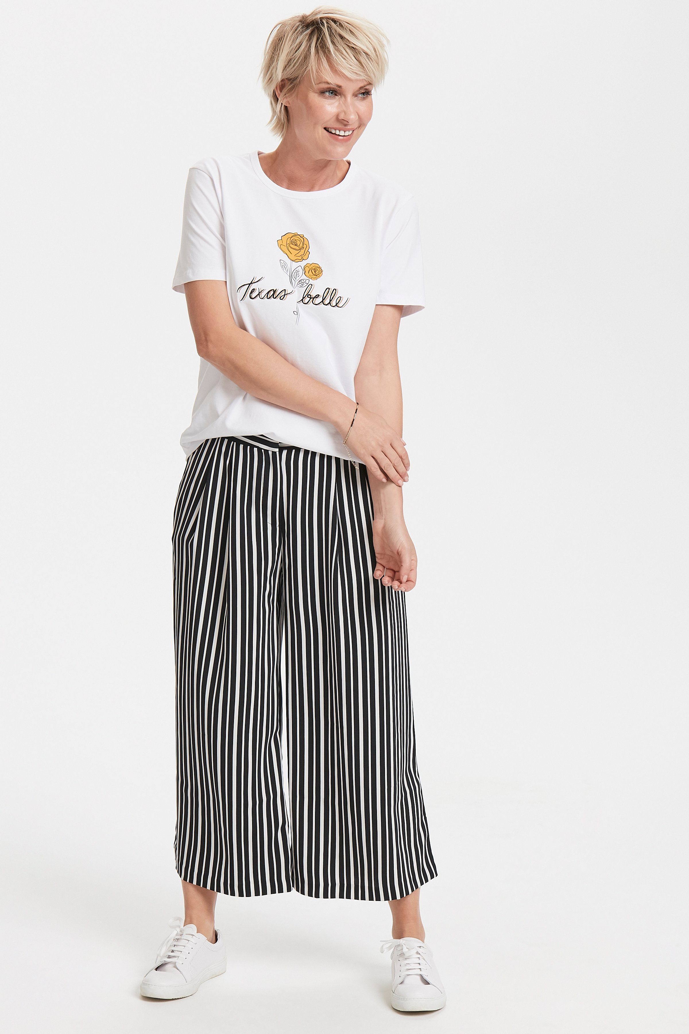 Weiß Kurzarm-Shirt von b.young – Shoppen Sie Weiß Kurzarm-Shirt ab Gr. XS-XXL hier
