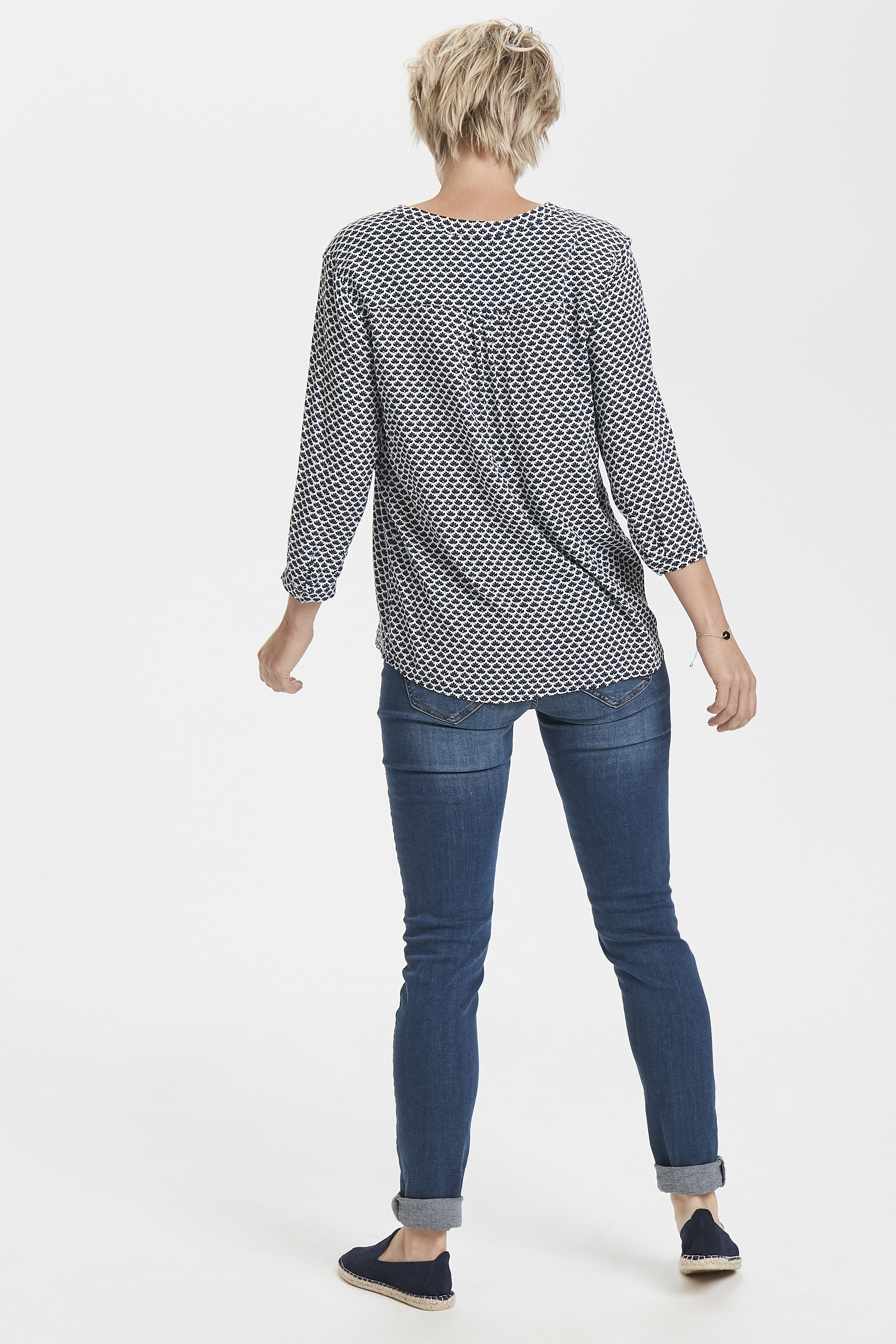 Weiß/marineblau Bluse von Fransa – Shoppen Sie Weiß/marineblau Bluse ab Gr. XS-XXL hier