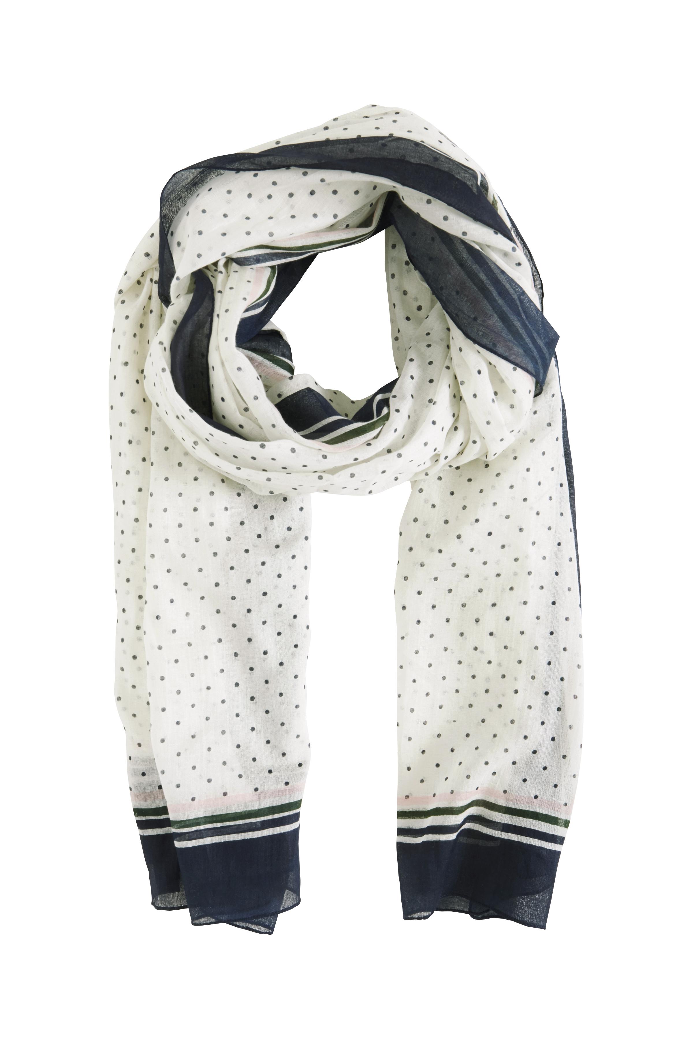 Weiß/marineblau Tuch von Fransa – Shoppen Sie Weiß/marineblau Tuch ab Gr. ONE hier