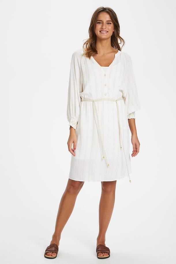Weiss/gold Kleid von b.young - Shoppen SieWeiss/gold Kleid ...