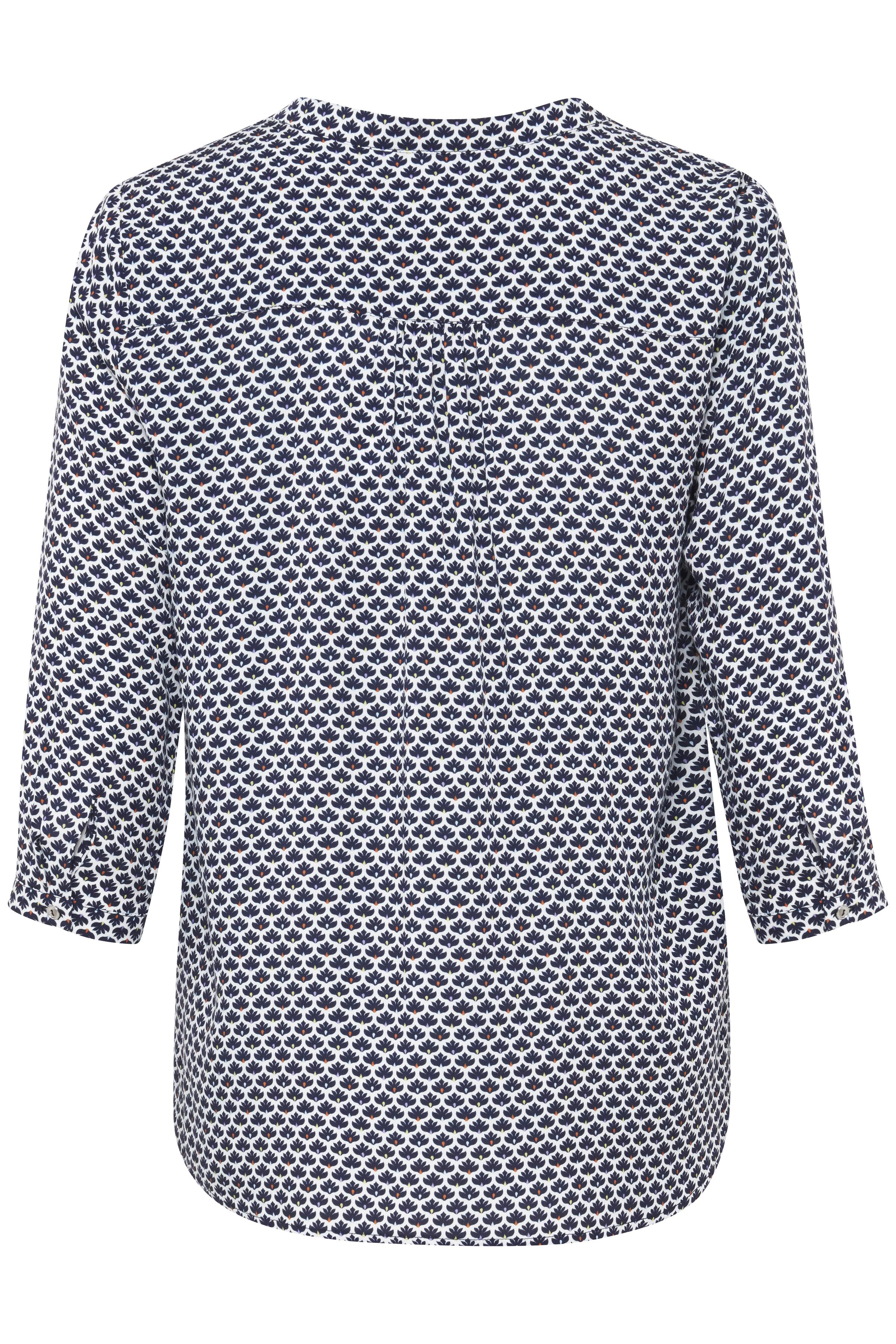 Weiss/marineblau Bluse von Fransa – Shoppen SieWeiss/marineblau Bluse ab Gr. XS-XXL hier