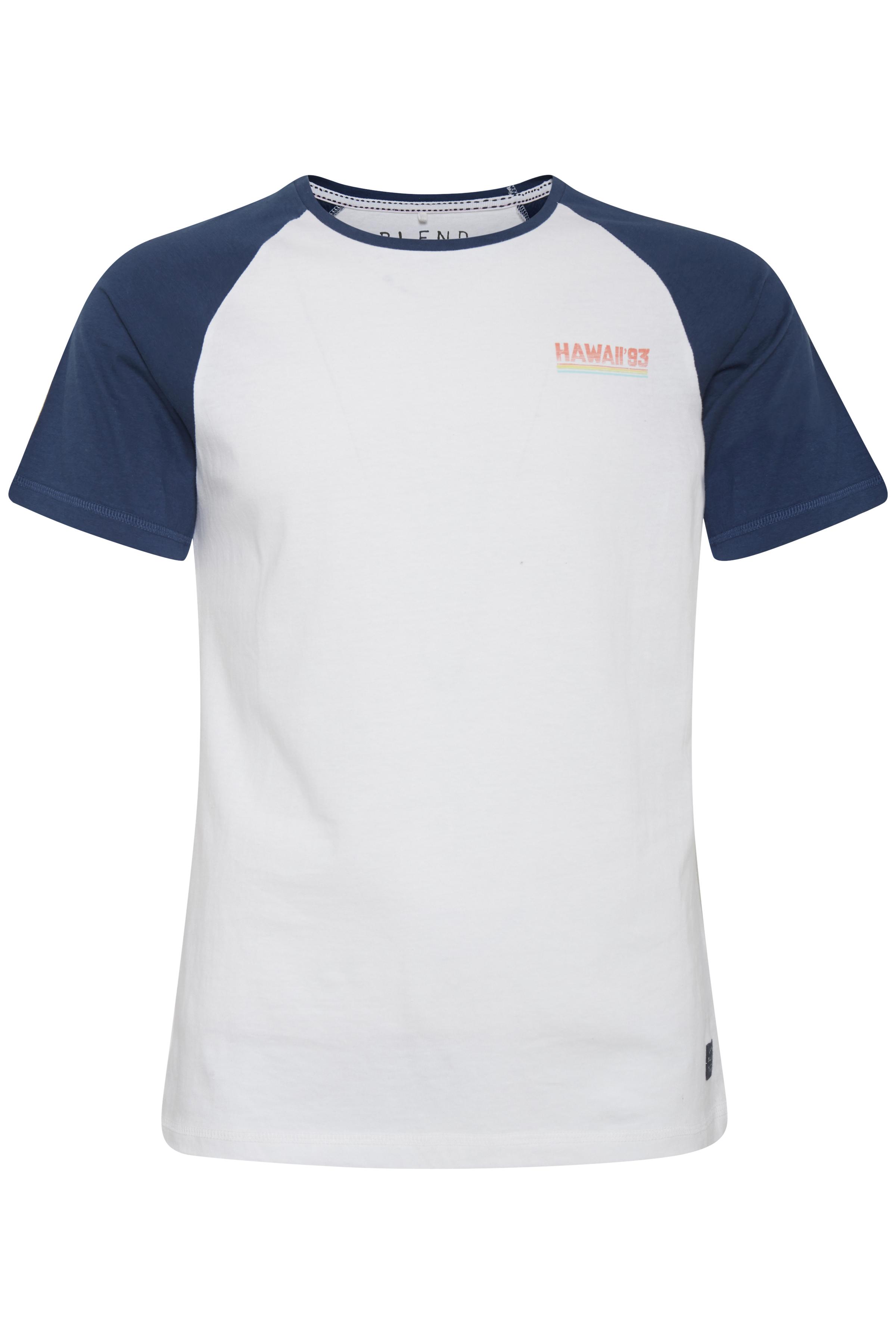 Image of Blend He Herre Kortærmet T-shirt - White