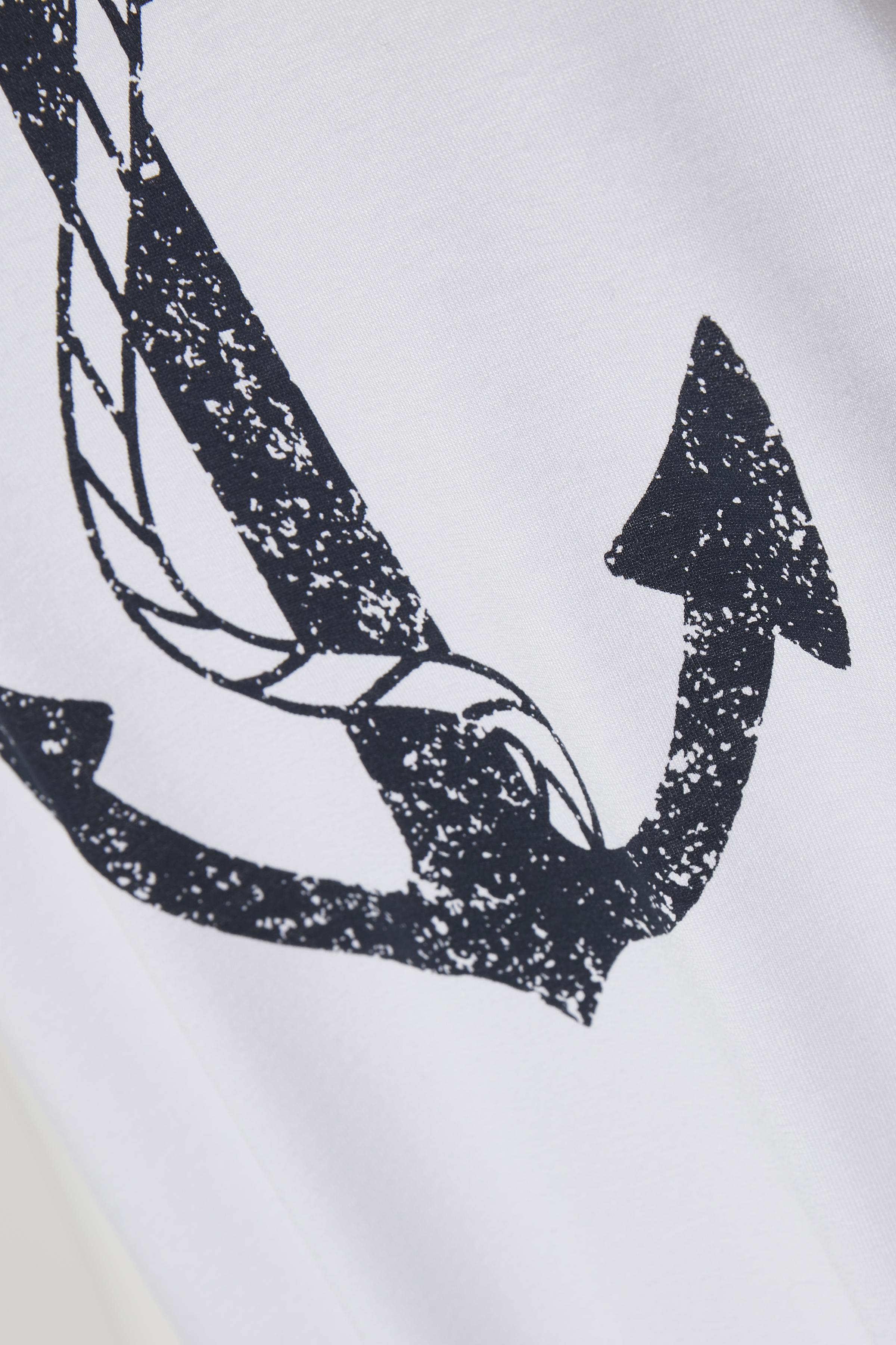 Wit T-shirt korte mouw van Bon'A Parte – Door Wit T-shirt korte mouw van maat. S-2XL hier