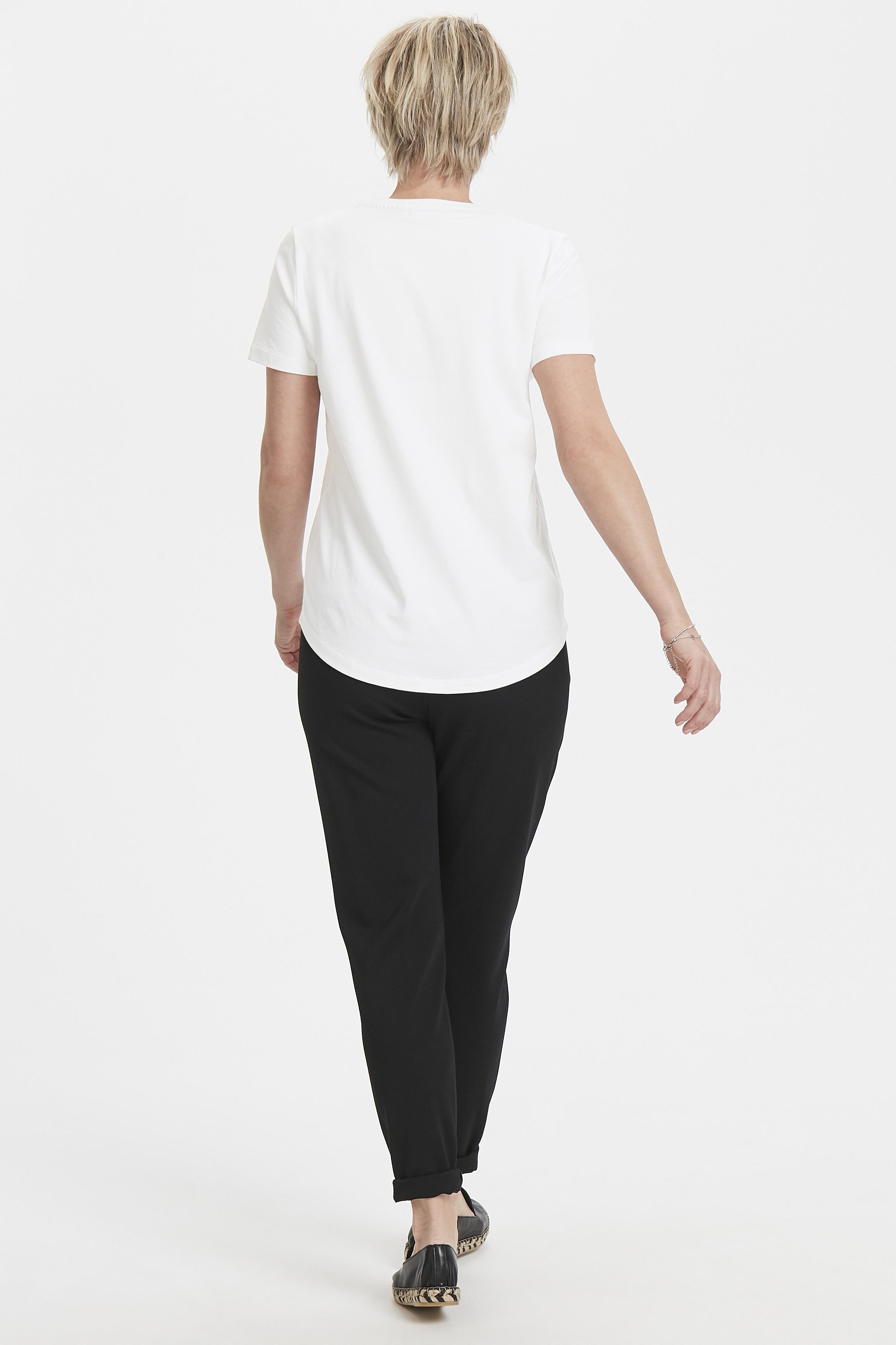 Wollweiß Kurzarm-Shirt von Bon'A Parte – Shoppen Sie Wollweiß Kurzarm-Shirt ab Gr. S-2XL hier