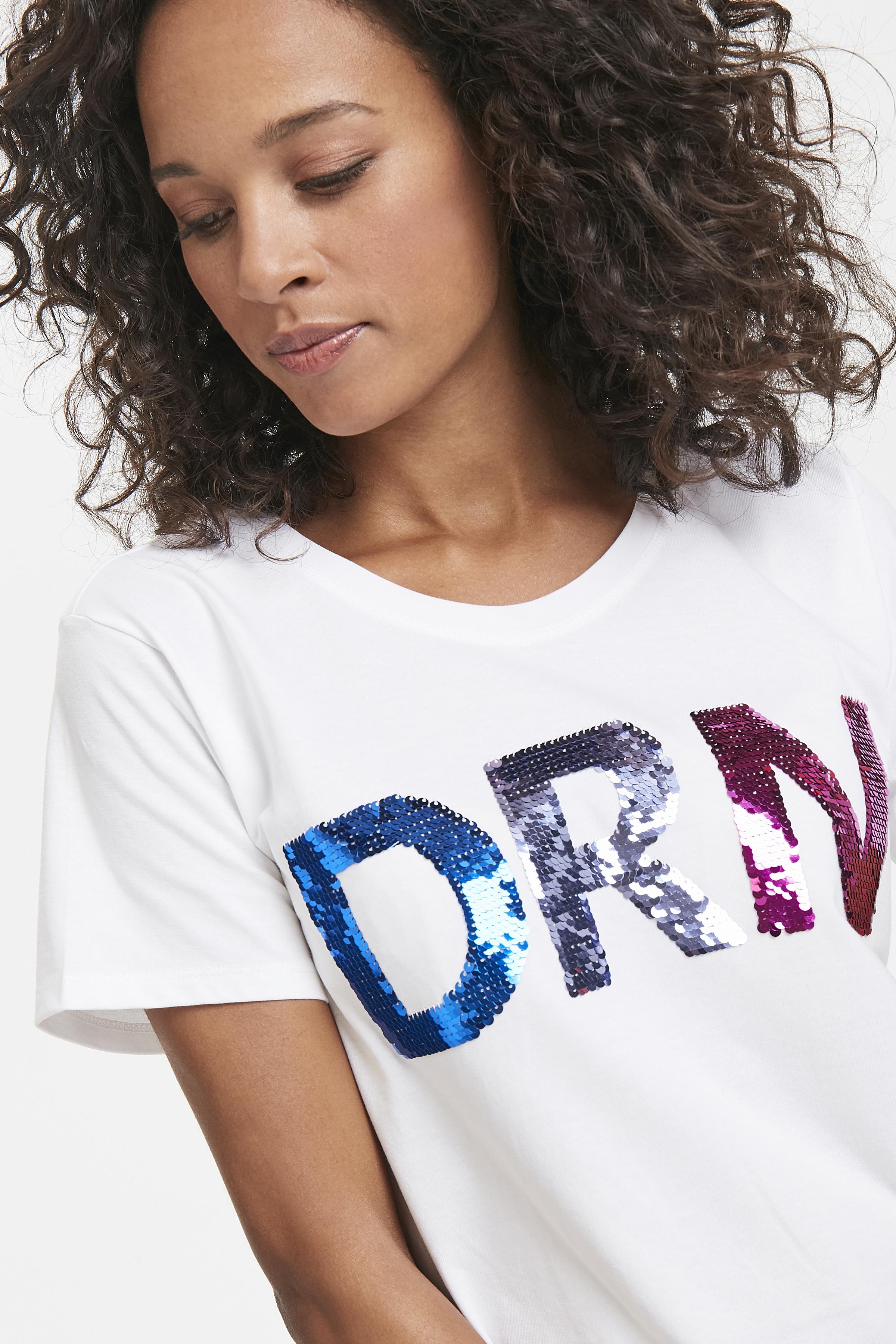 Wollweiß Kurzarm T-Shirt von Dranella – Shoppen Sie Wollweiß Kurzarm T-Shirt ab Gr. XS-XXL hier