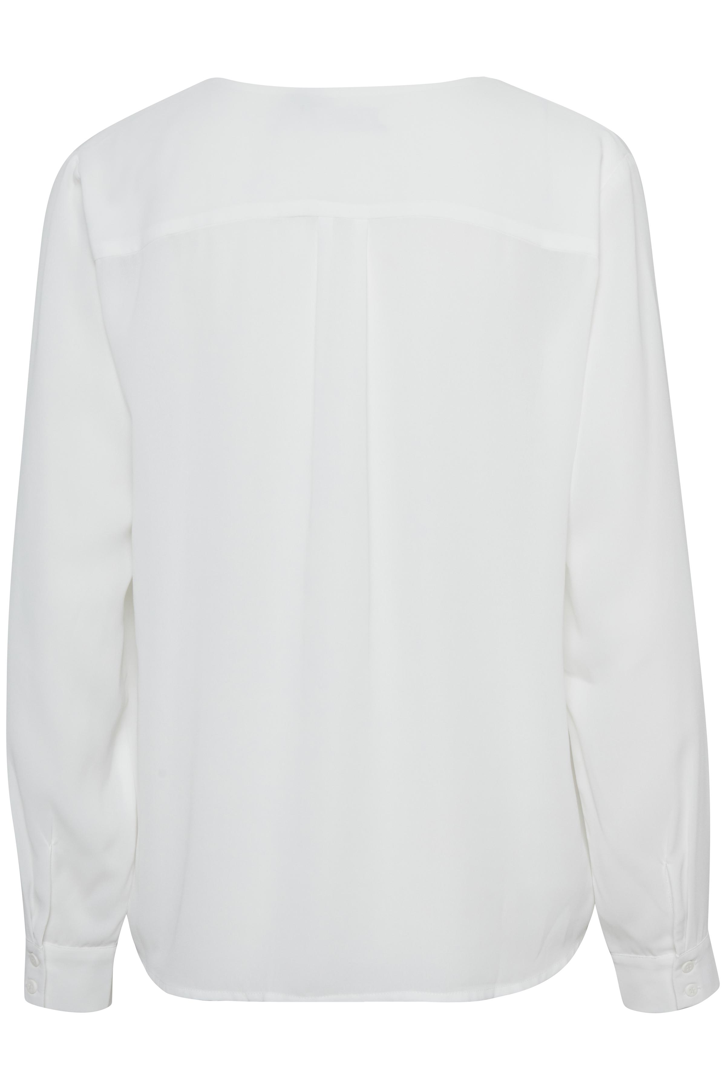 Wollweiß Langarm-Bluse von b.young – Shoppen Sie Wollweiß Langarm-Bluse ab Gr. 34-46 hier