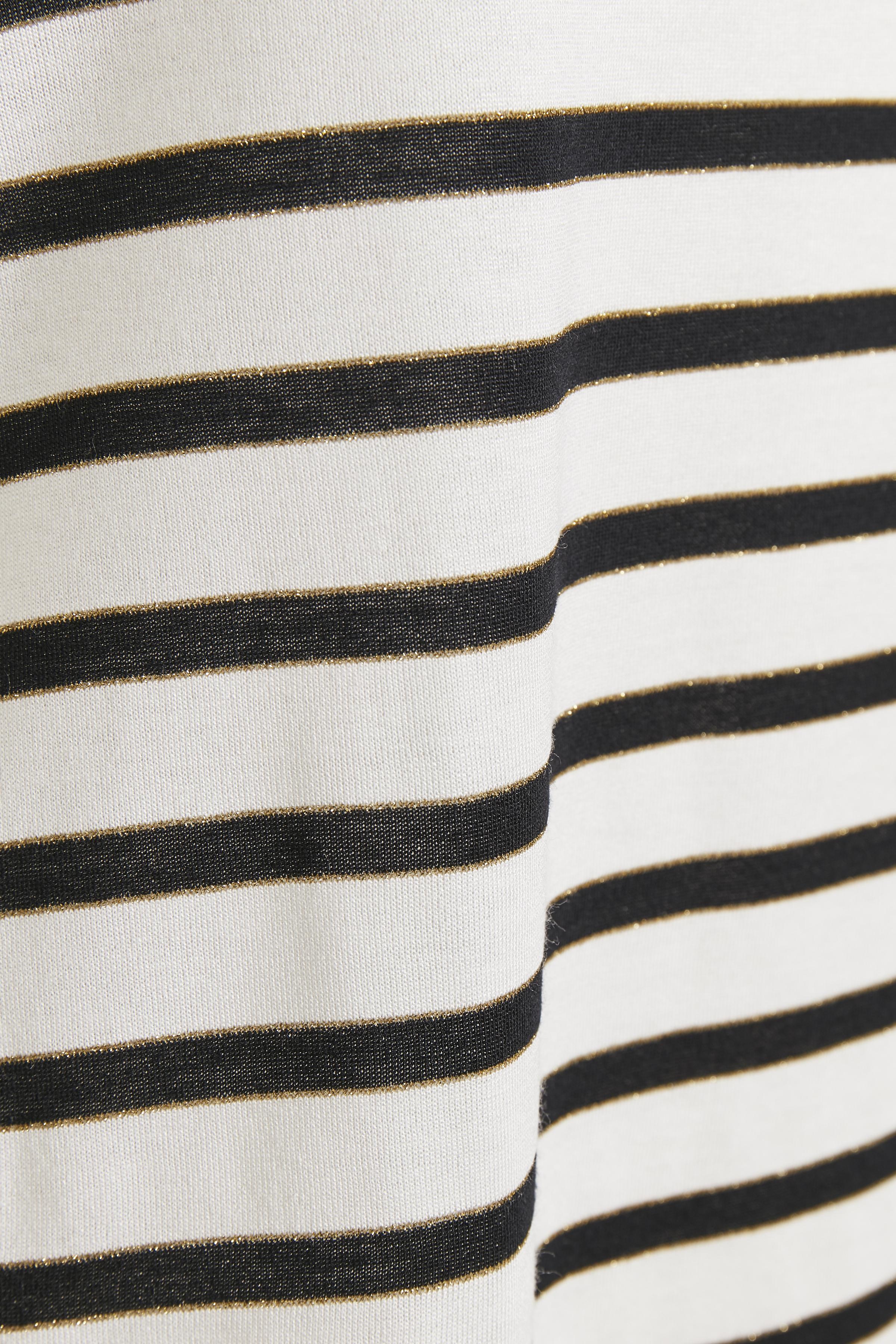 Wollweiß/marineblau Top von Bon'A Parte – Shoppen Sie Wollweiß/marineblau Top ab Gr. S-2XL hier