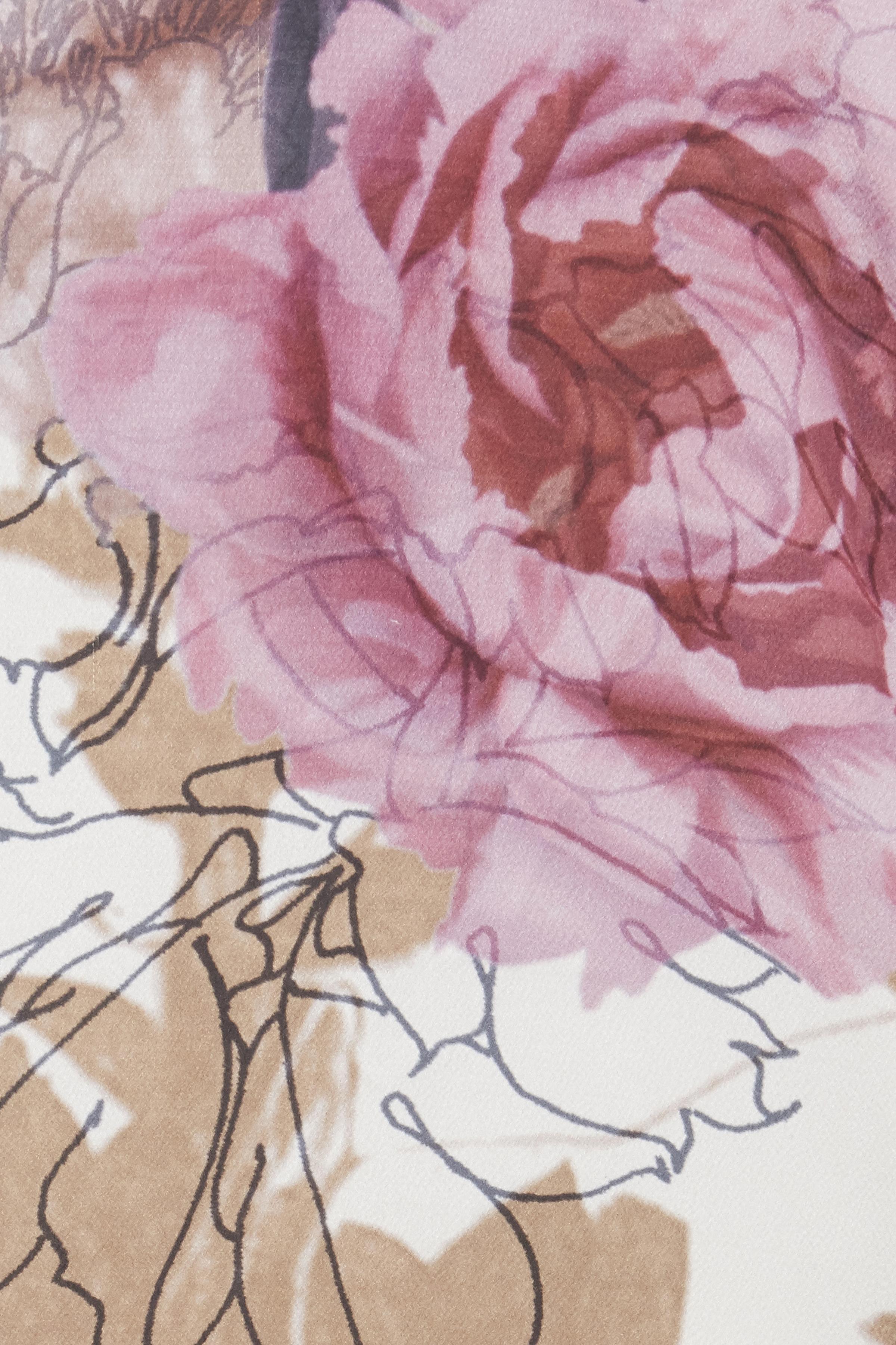 Wollweiß/rosa Kurzarm-Bluse von Fransa – Shoppen Sie Wollweiß/rosa Kurzarm-Bluse ab Gr. XS-XXL hier