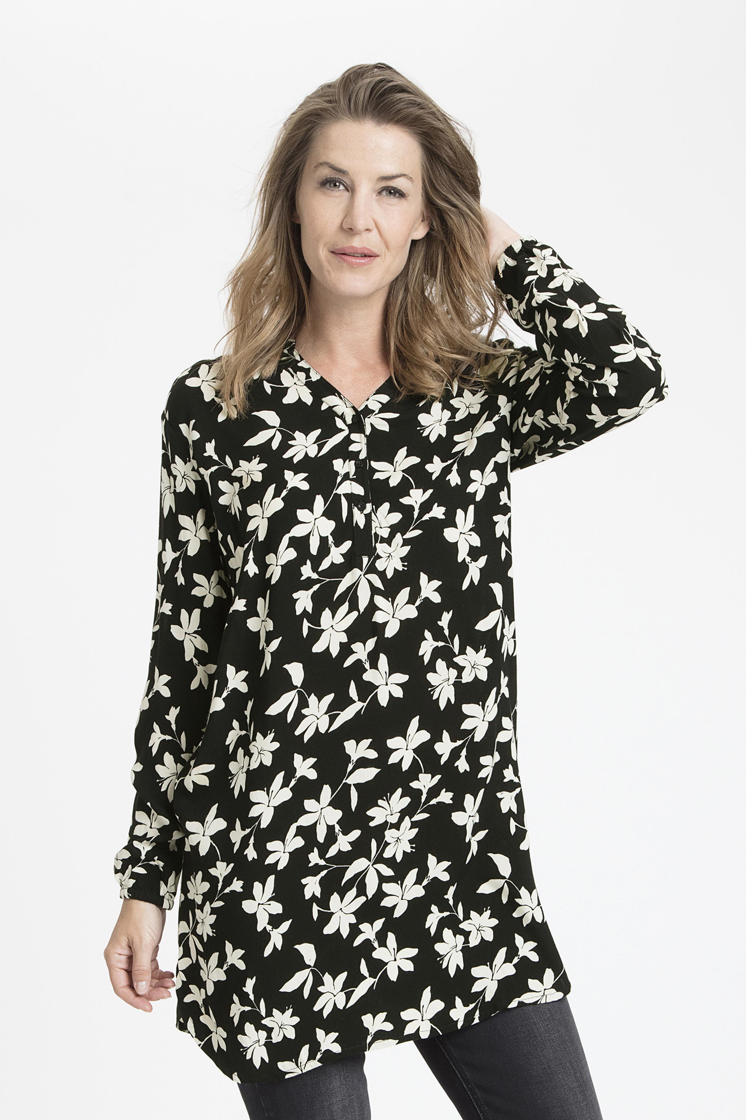 Wollweiß/schwarz Kleid von Bon'A Parte – Shoppen Sie Wollweiß/schwarz Kleid ab Gr. S-2XL hier