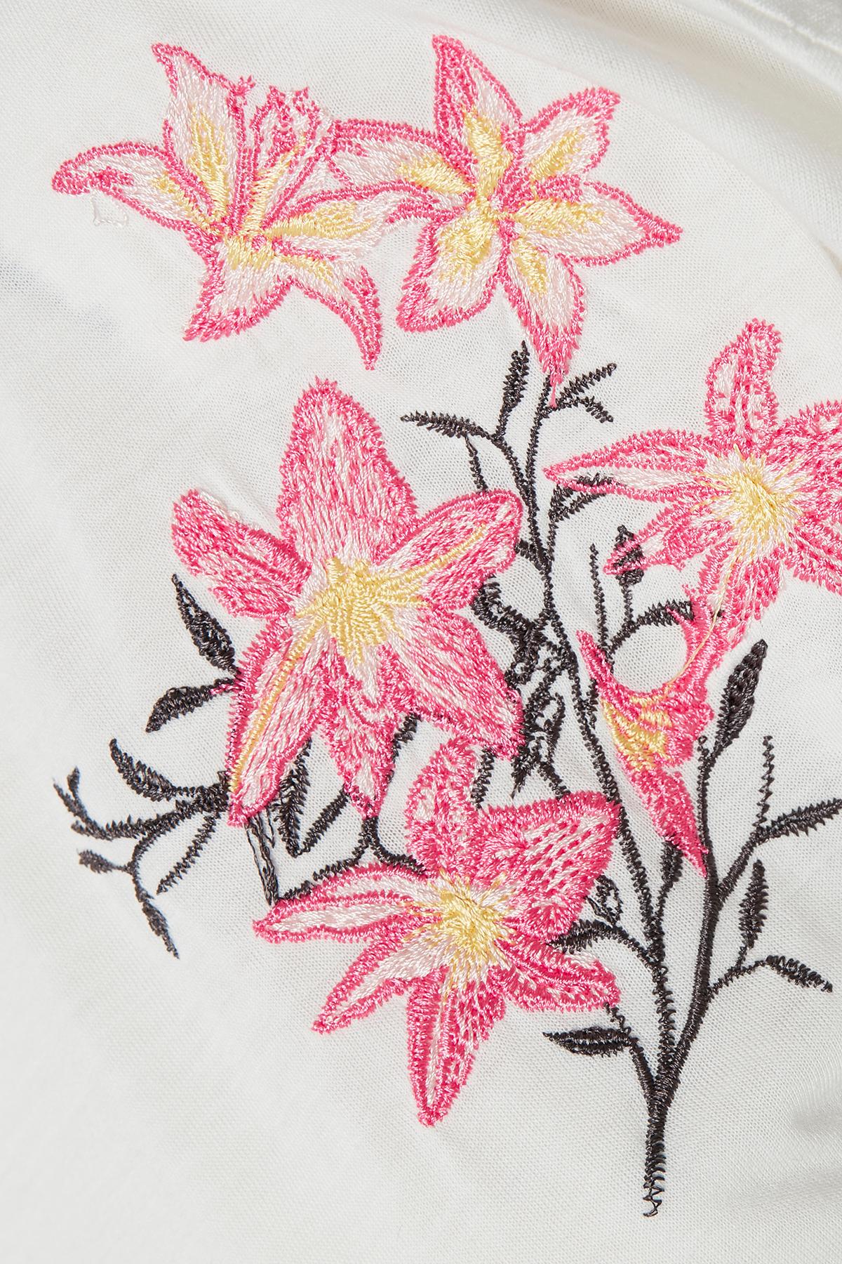 Wollweiss Kurzarm T-Shirt von Bon'A Parte – Shoppen SieWollweiss Kurzarm T-Shirt ab Gr. S-2XL hier