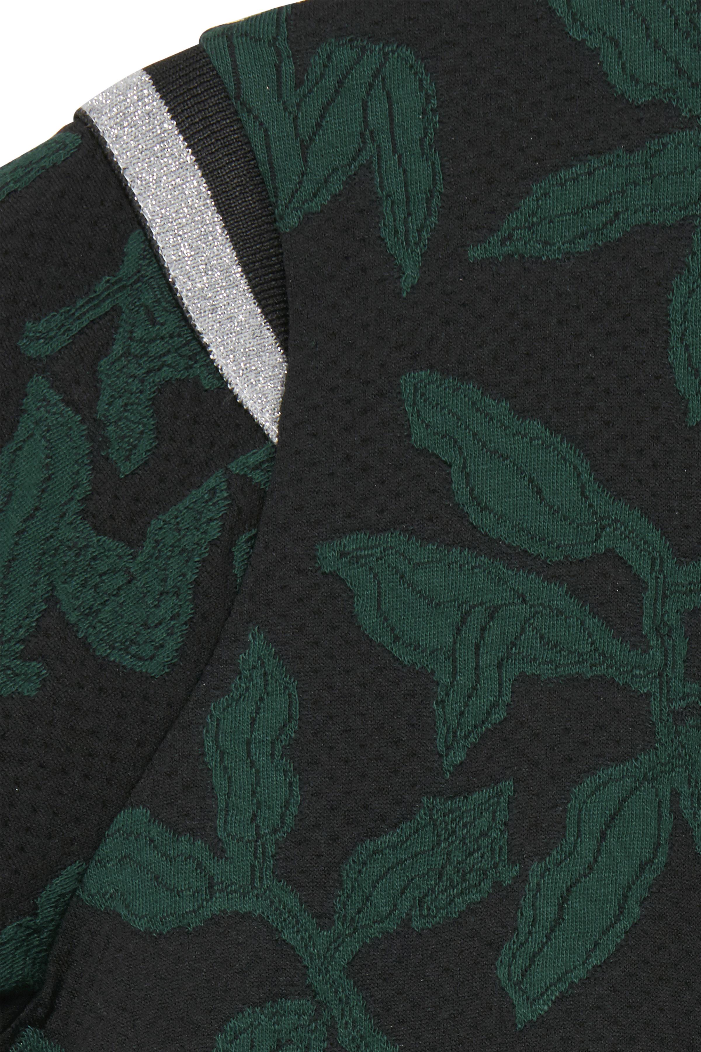 Zwart/flesgroen Jurk van Dranella – Door Zwart/flesgroen Jurk van maat. XS-XXL hier