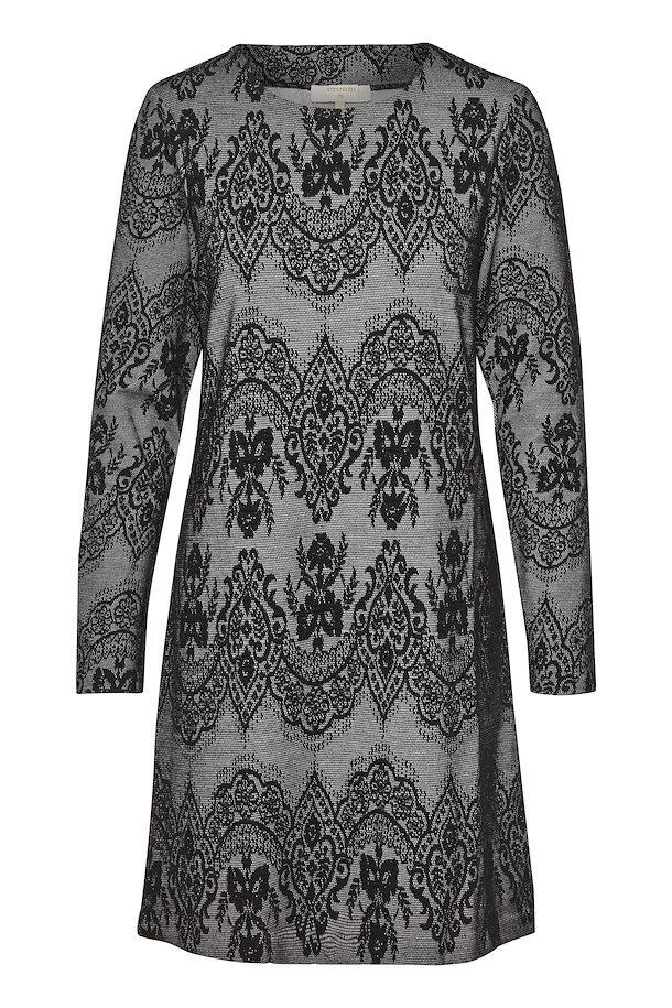 a1703ace541154 Zwart Gebreide jurk van Cream – Door Zwart Gebreide jurk van maat. XS-XXL  hier