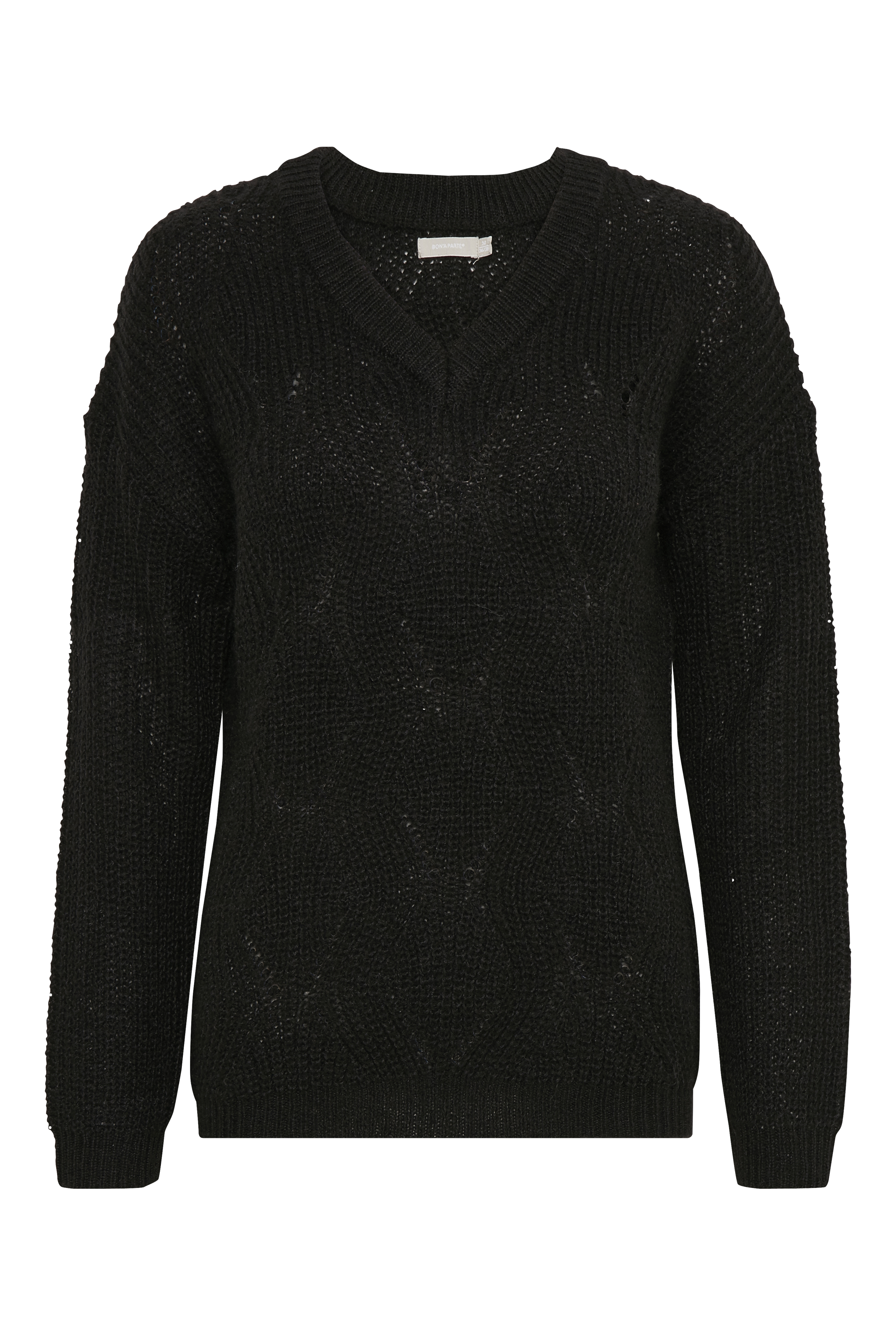 Bon'A Parte Dame Gebreide pullover - Zwart