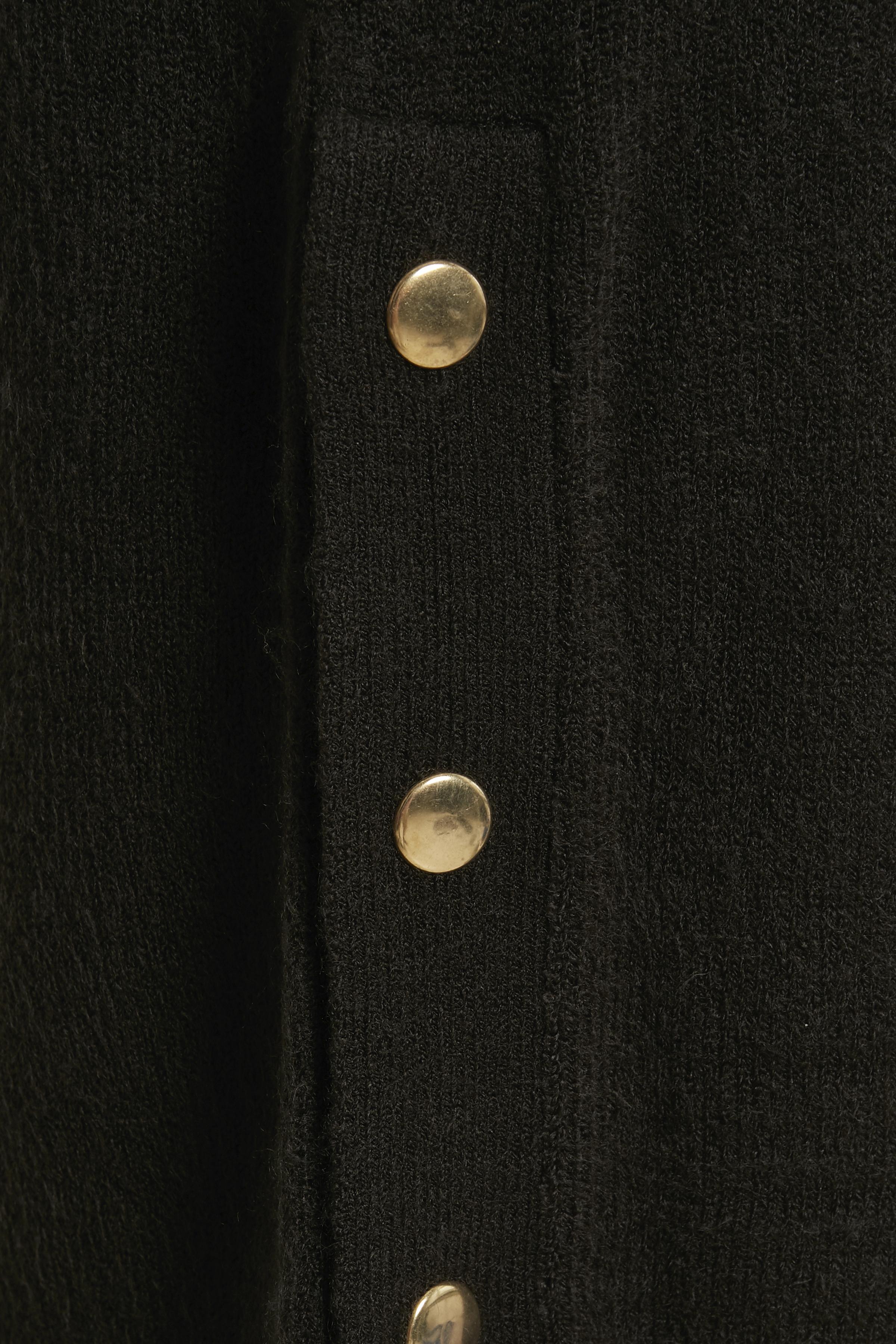 Zwart Gebreide tuniek van b.young – Door Zwart Gebreide tuniek van maat. XS-XXL hier